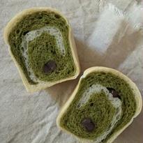 0563-豆乳ミニ食パンのぐるぐる抹茶(1ヶ入)