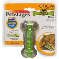 ペットボトルが好きなワンコに!Petstagesクランチコア・ボーン【ミディアムサイズ】