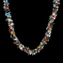 天然石トレンディな宝石類ネックレス