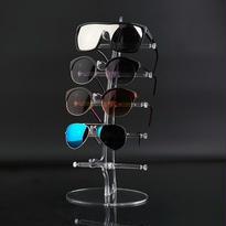 アクリル製 眼鏡 /サングラス スタンド ラック ディスプレイ