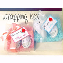 wrapping box(シューズ用)