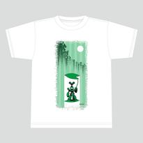 【受注生産:6月下旬発送】メダロットTシャツ_メタビー02_ホワイト