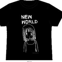 NEW WORLD GIRL Tシャツ(ブラック)