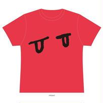眼 Tシャツ(レッド)
