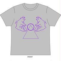 熊熊算 Tシャツ(グレー)