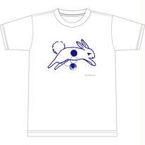兎算 Tシャツ(ホワイト)