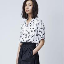 Swan Rayon シャツ / ホワイト