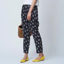 Swan Rayon パンツ / ブラック