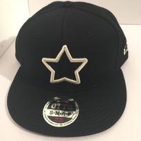 mobstar cap ブラック シルバースター 2016 スナップバック