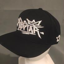 ロゴタイプ cap black