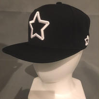 2017 Mobstar cap Whitestar Black