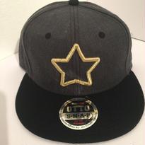 mobstar cap ヘザーブラック×ブラック ゴールドスター 2016 スナップバック
