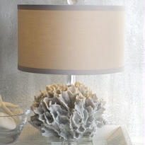 White Coral Signature Lamp