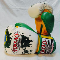 YOKKAO/ヨッカオ ボクシンググローブ Brazilian Flag White