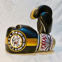 YOKKAO/ヨッカオ ボクシンググローブ Official fight Team Black/Gold