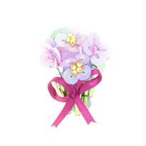 Miniature Bouquet Brooch(pink)