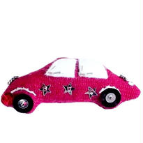 Red Car Brooch