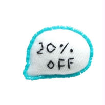 Balloon Brooch (20% off)