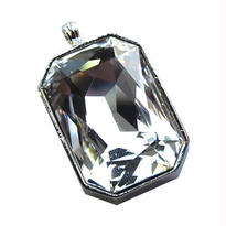 Swarovski Pendant  -Crystal-