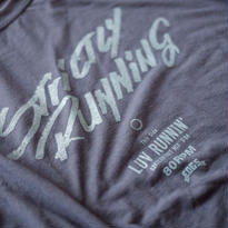 LUV RUNNIN' T-shirts 【Navy×Blue】