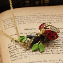 *Ladybugネックレス