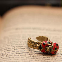 *Ladybug&leafリング