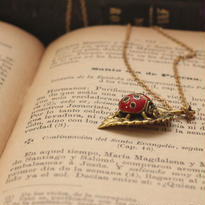 *Ladybug&leafネックレス