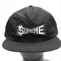 Supreme 2017S/S SKEW NYLON 5-PANEL CAP BLACK