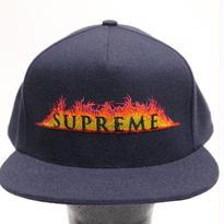 Supreme 2017S/S ANNIHILATION 5-PANEL CAP BLACK