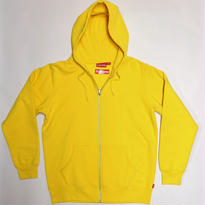 Supreme Gonz Butterfly Yellow Hoody Zip up Sweat Yellow <L>
