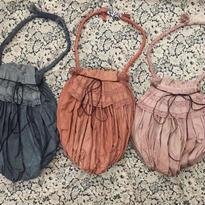 web限定アンティークレースの手染めterrier bag