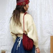 mini terrier bag  <シルクRED>