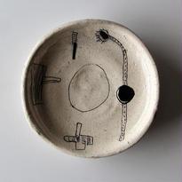 キムホノ 7寸皿