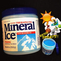 Mineral Ice®-pain relieving gel-