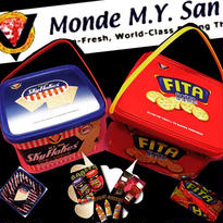 M.Y.san CRACKERS BOX -Manufacturer's agent in the U.S.A-