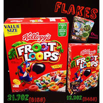 Flakes FROOT LOOPS-VALUE size-