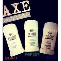AXE WHITE LABEL deodorant powder