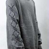 【オンライン限定】CREW NECK SWEAT (GRAY)『CHAIN』