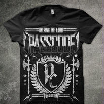 PassCode T-shirt (ブラック)