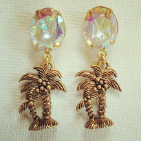 Vintage Palmtree crystal