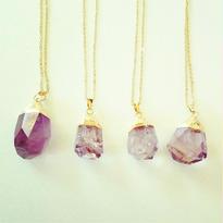 限定amethyst necklace