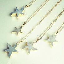 限定star fish pendant