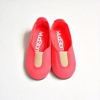 【 La Cadena 2017SS 】 SLIP ON / Coral x Beige / size 13〜19cm