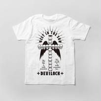 NO1/クロススカル Tシャツ