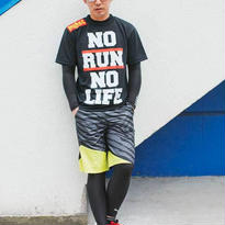 BLACK/NO RUN NO LIFE