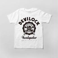 NO.3/(白)ヘッドクオーターTシャツ