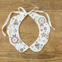 装う刺繍 身につける刺繍 材料セット 花いっぱいのつけ衿