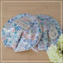 手作り母乳パッド**Flower&Lace*Blue