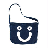 POLAR SKATE CO. / HAPPY SAD DENIM TOTE BAG