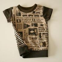 トラフィック×ボーダー Tシャツ
